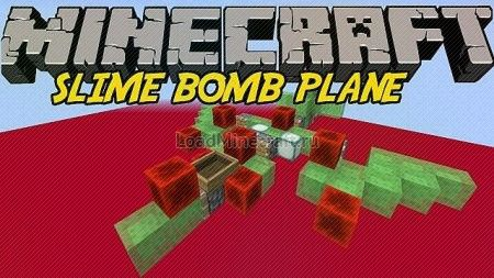 Minecraft — Slime Bomb Plane для minecraft