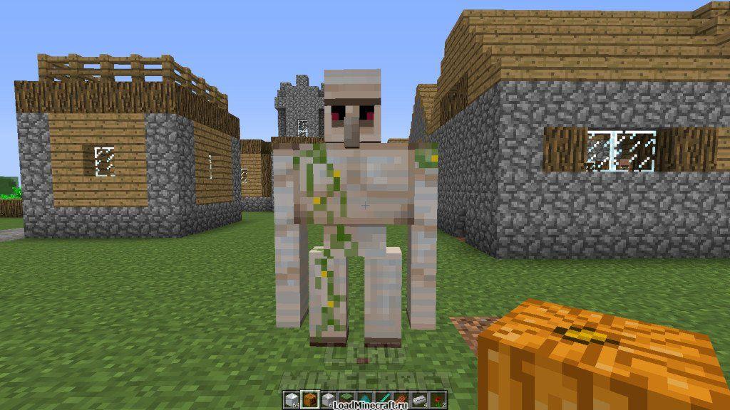 Как сделать голема в minecraft