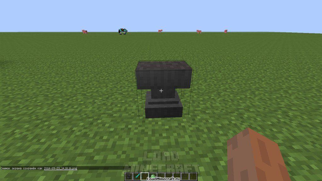 Как сделать наковальню в minecraft