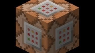 как сделать блок в minecraft