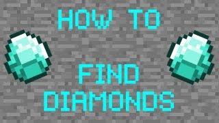 как находить алмазы в minecraft