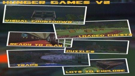 Hunger Games Map для Minecraft 1.7.10