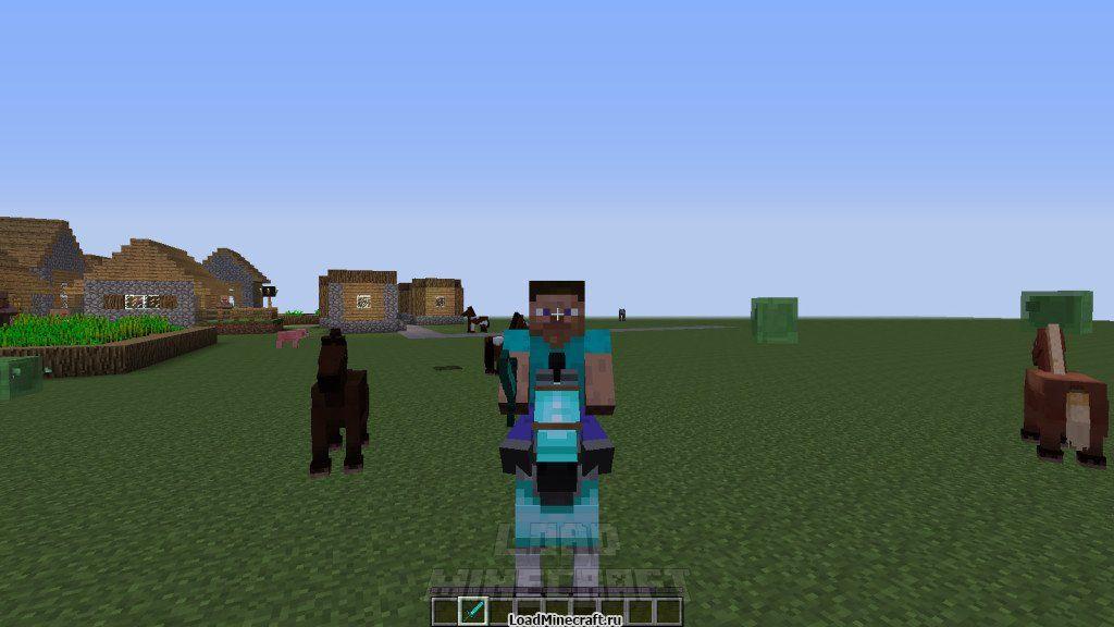 Как приручить лошадь в minecraft