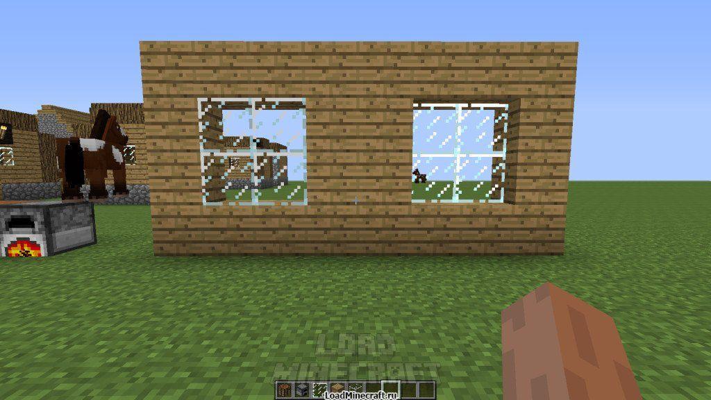 Как сделать стекло в minecraft