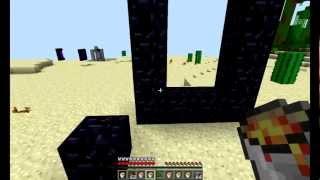как сделать портал в minecraft